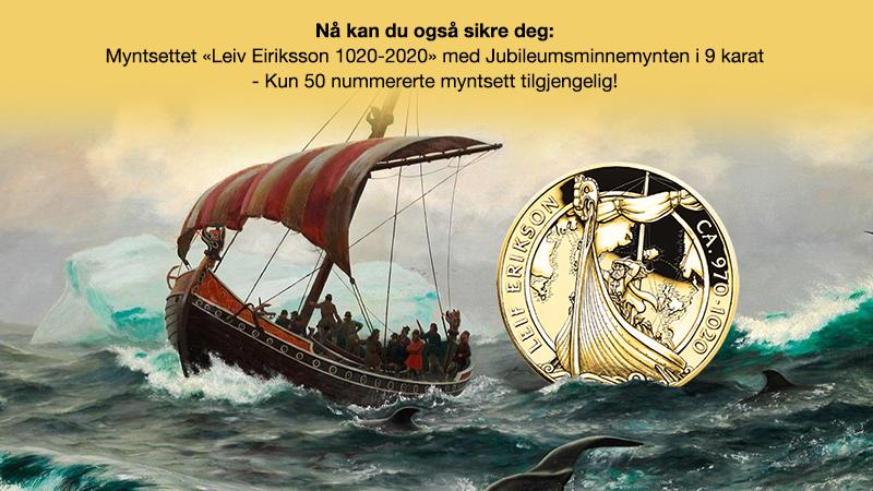 "Myntsettet ""Leiv Eiriksson 1020-2020"""