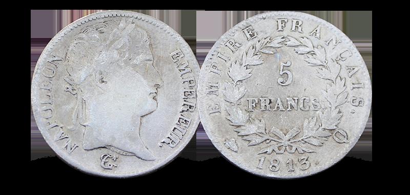Sikre deg sølvmynten til selveste Napoleon