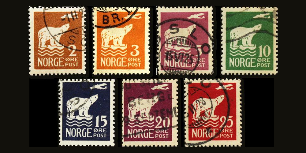 NK130-136 Polmerker i stemplet kvalitet