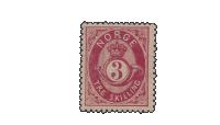Norges første posthornfrimerke - NK18bx