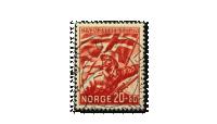 NK259 Den norske legion stemplet