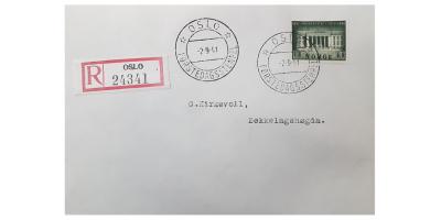NK 260 førstedagsstemplet brev (2.9.41)