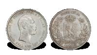 Norge Carl XV 1 speciedaler 1862 UNC (0/01)