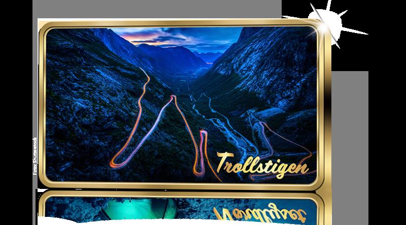 Norges flotteste attraksjoner Trollstigen