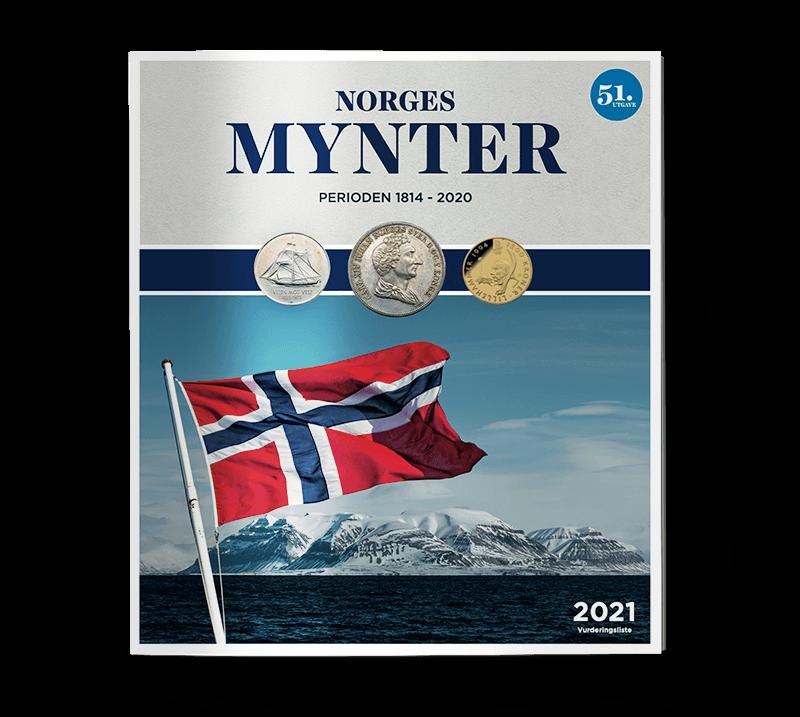 Hold deg oppdatert på Norges mynter!