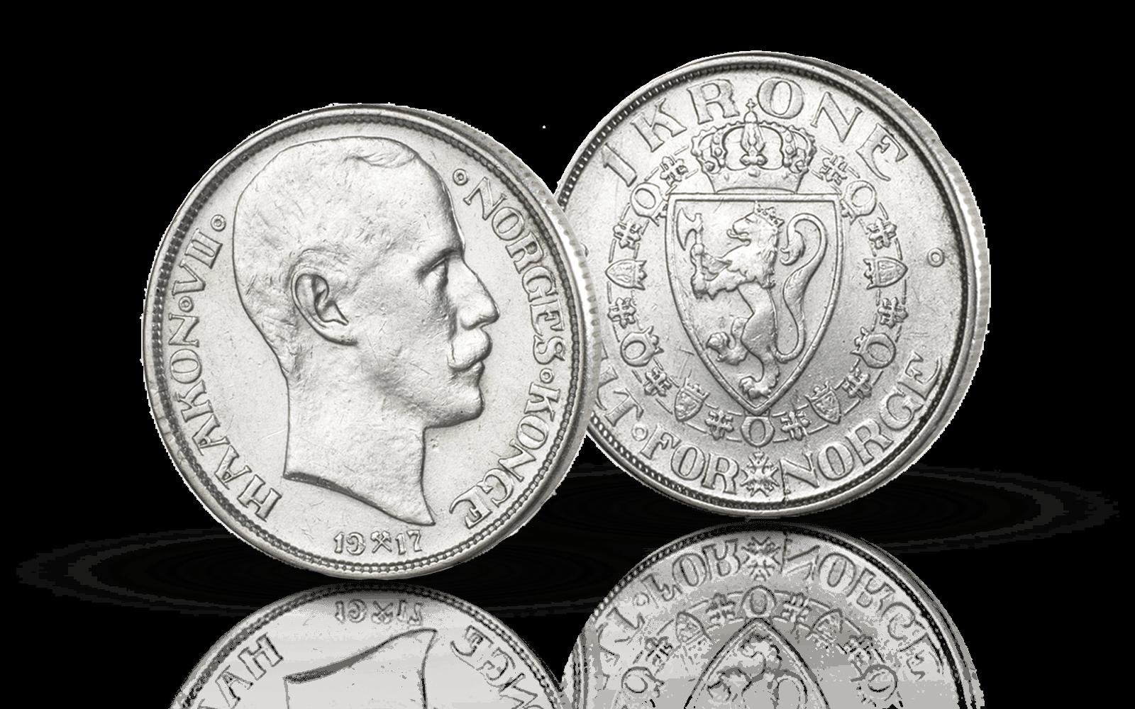 Norges aller siste 1-krone i sølv