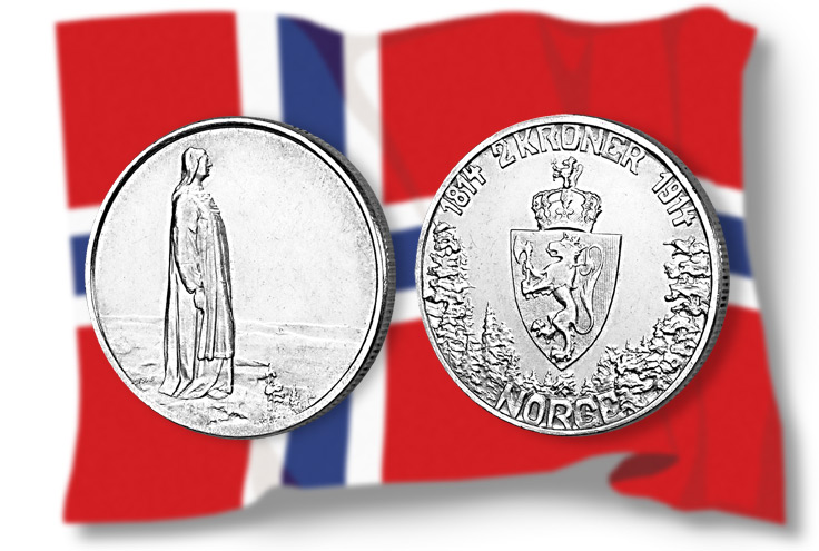 Spar 250 kroner på Norges vakreste minnemynt