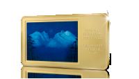 Kunstbarren Vinternatt i fjellene