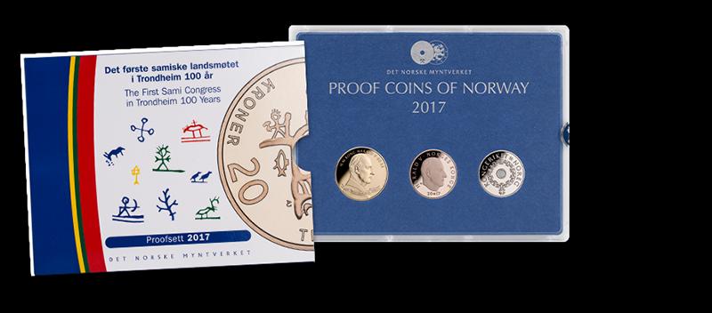 Det Norske Myntverkets proofsett 2017: