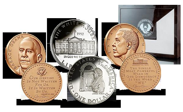 obama-sett-mynt-medalje-solv-skrin-hvite-hus