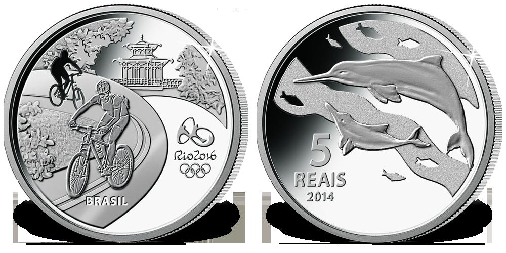 Offisiell OL mynt fra Brasil