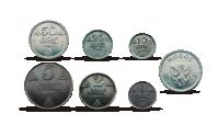 Okkupasjonsmyntsett mynter