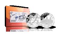 Johaug-seddel og Countdown sølv serie 1