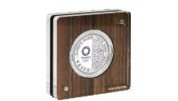 Spesiallaget Kapsel til den Offisielle OL sølvmynten som hedrer baseball