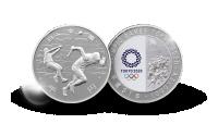 Ol Tojyo 2020 sølvmynt Friidrett