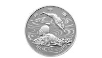 Paralympic Svømming OL-sølvmynt