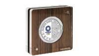 Serie 4 OL-sølvmynt revers