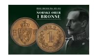 Norske øremynter i bronse