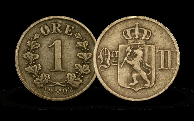 1 øre 1902