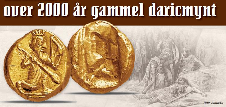 Over 2000 år gammel gullmynt!