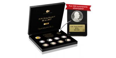 Platinamedalje H.M. Kong Harald 80 år