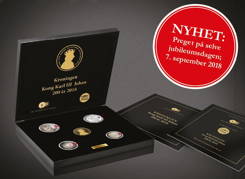 Bestselger fra Det Norske Myntverket og Det Statlige Franske Myntverket