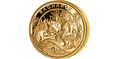 Prestisjeutgaven Ragnarok i 9 karat gull