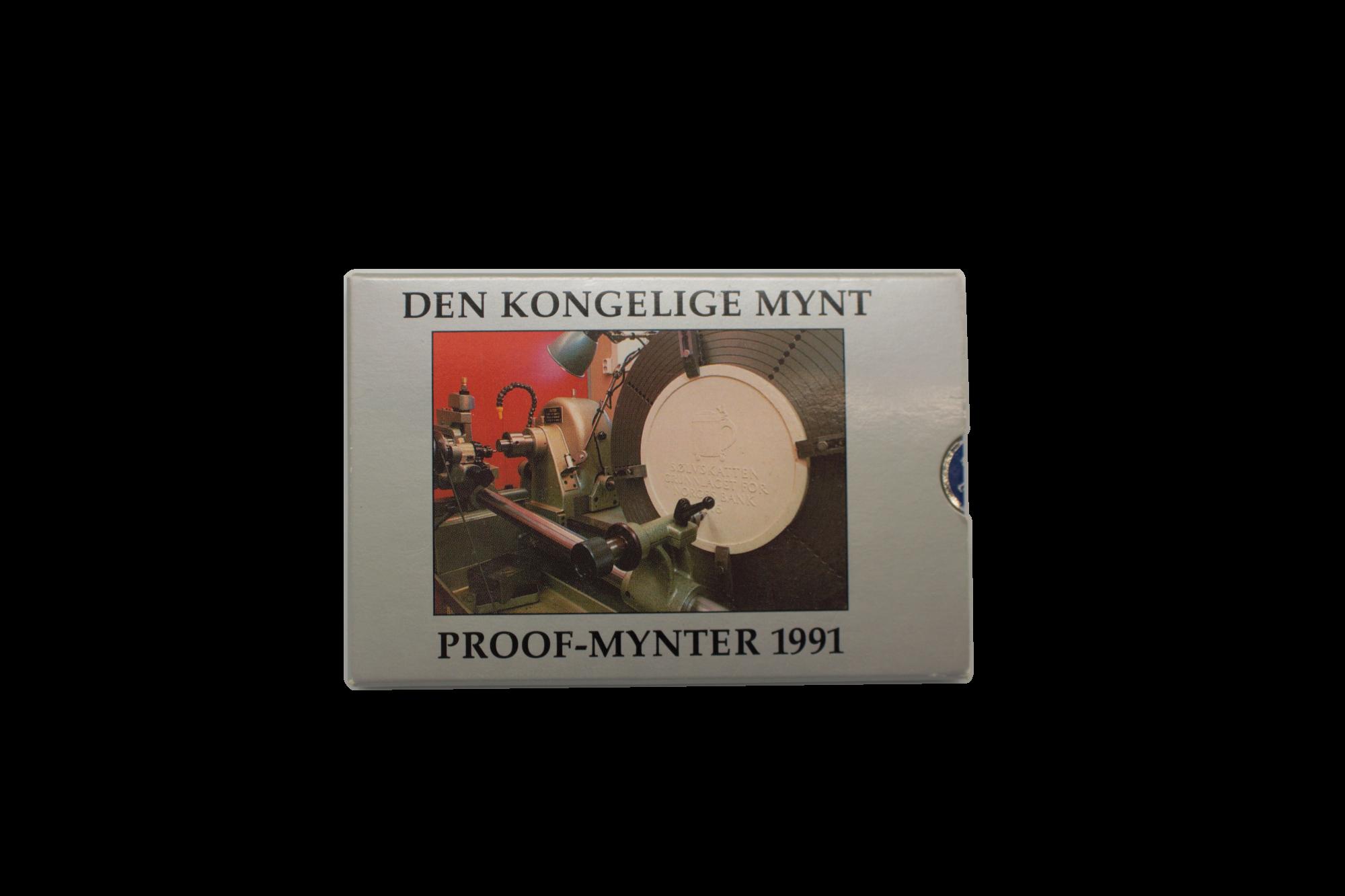 Proofsett 1991 fremside innpakning