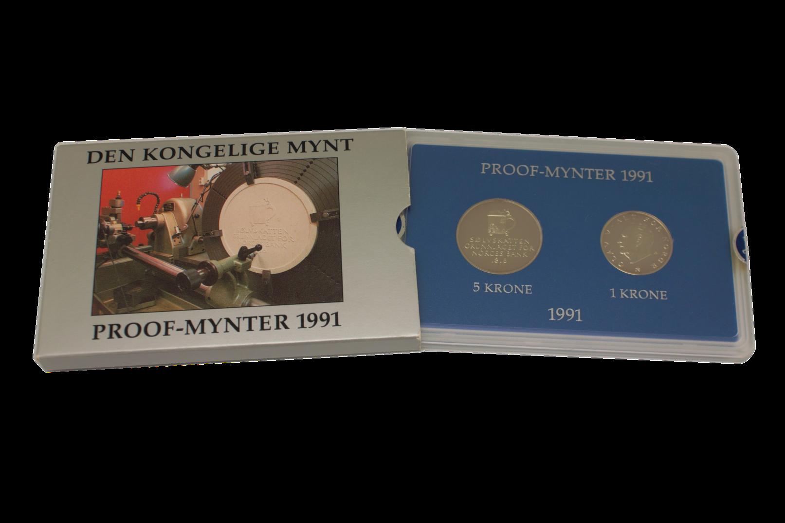 Proofsett 1991 komplett
