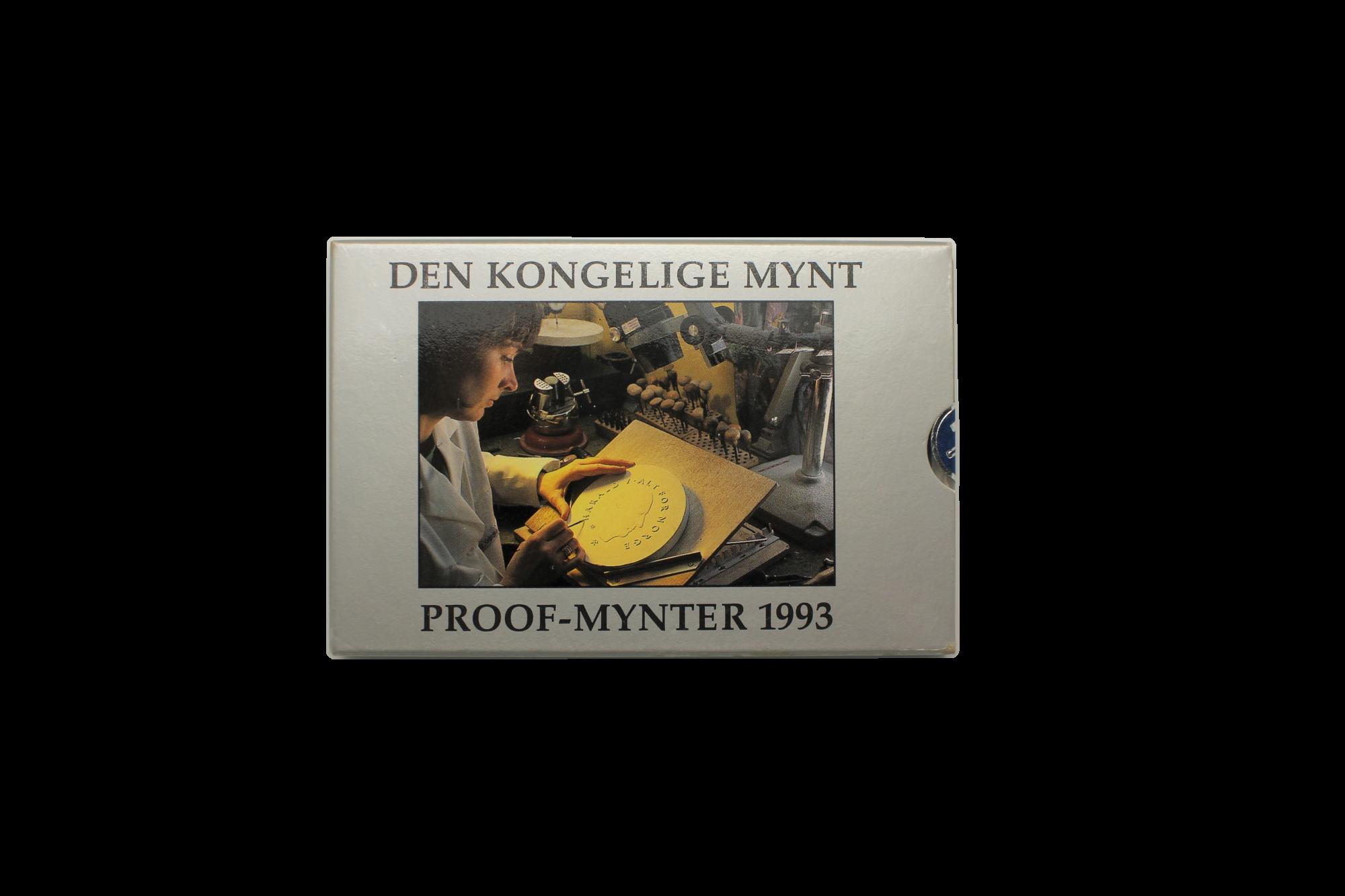 Proofsett 1993 forside innpakning