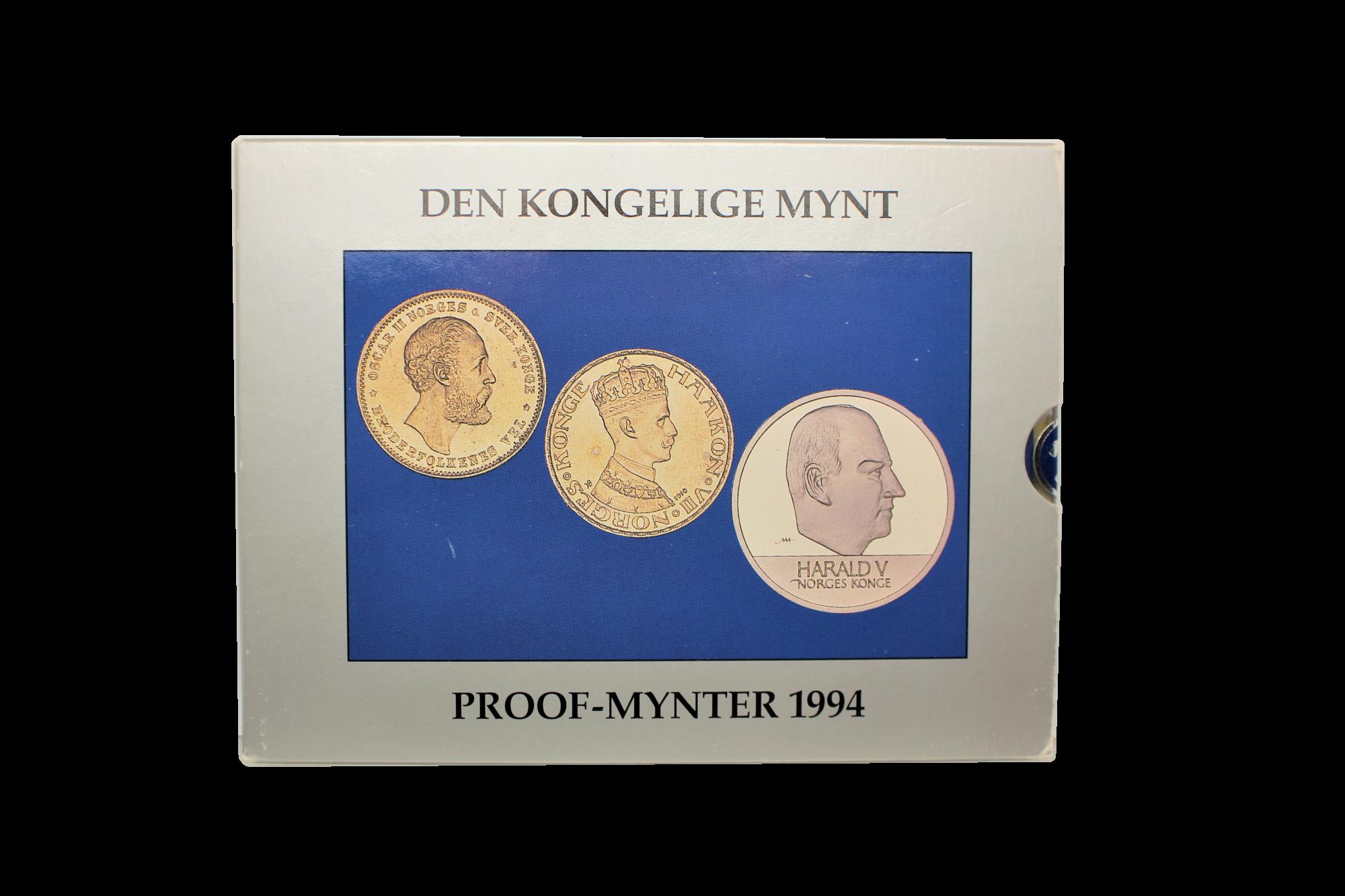 Proofsett 1994 forside innpakning