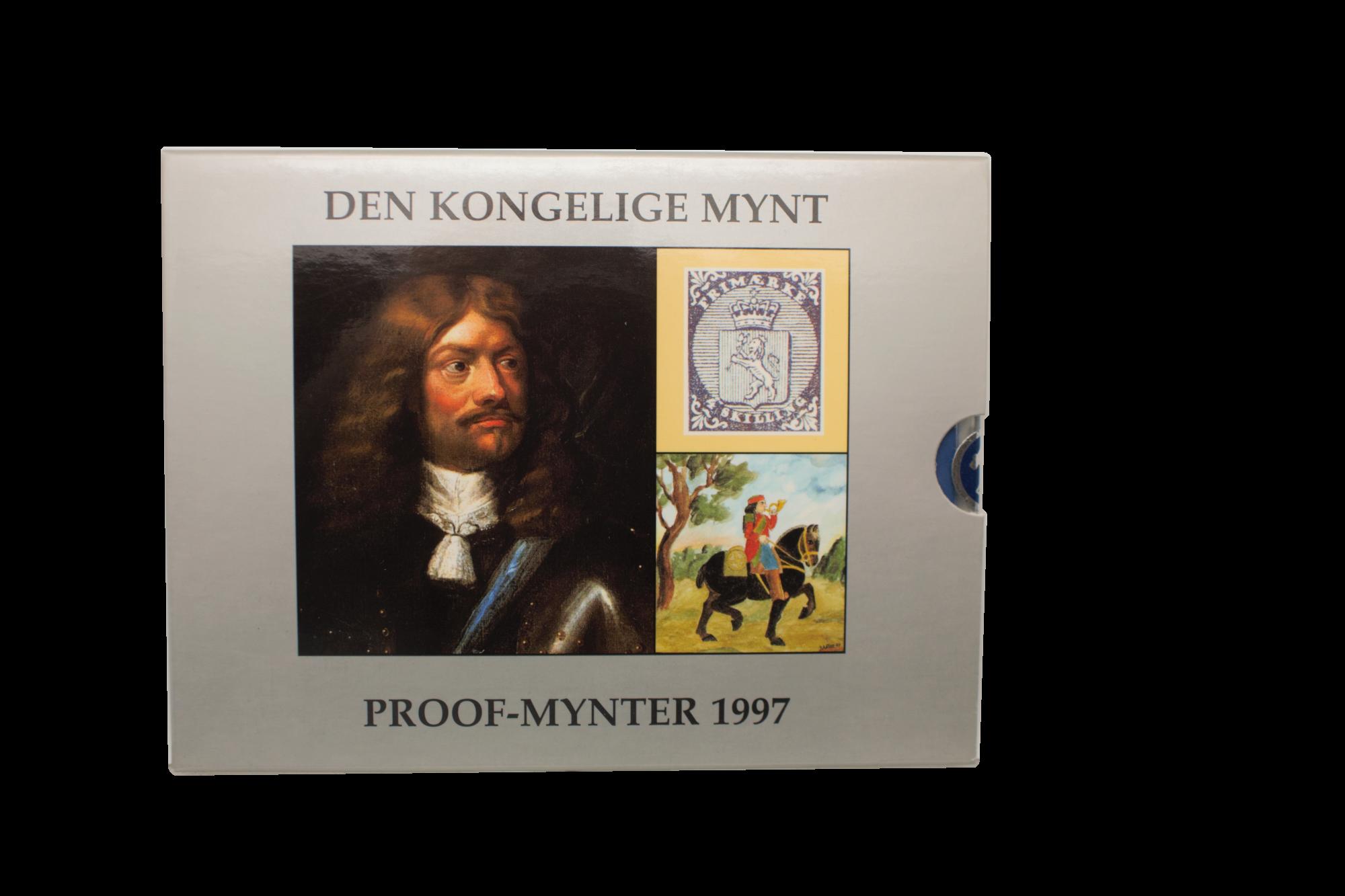 Proofsett 1997 forside innpakning