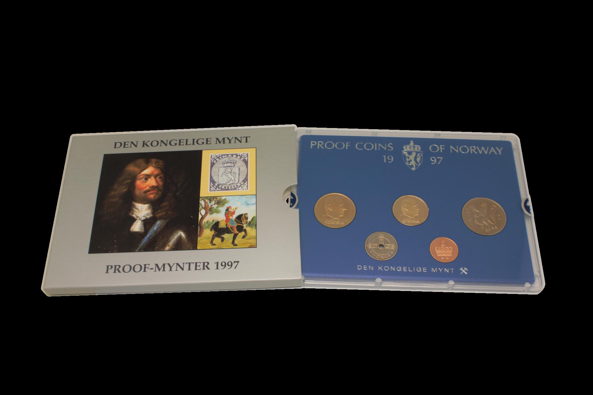 Proofsett 1997 komplett