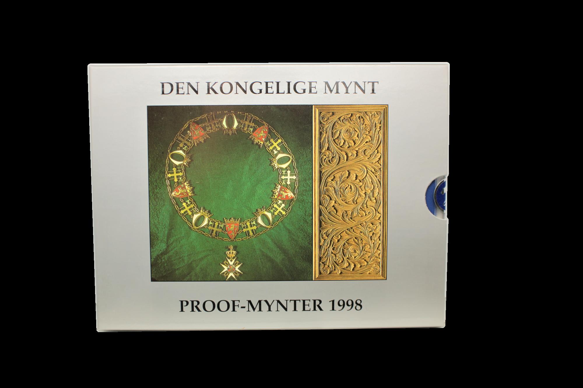Proofsett 1998 forside innpakning