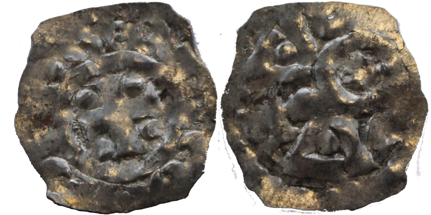 Sjelden mynt fra Gange-Rolv og Wilhelm Erobrerens etterfølger