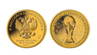 Russland 50 rubel 1/4 unse proof 2018 FIFA world cup
