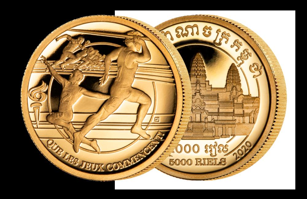 Aller første Countdown-mynt som teller ned til et OL som blir «feil»