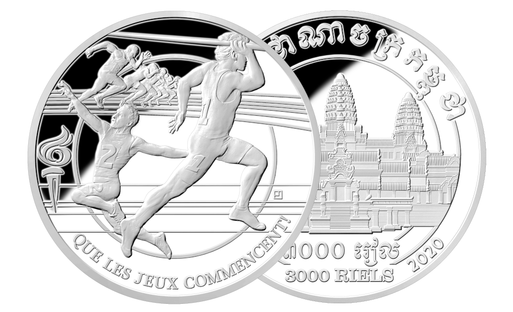 Aller første Countdown-mynt i sølv som teller ned til et OL som blir «feil»