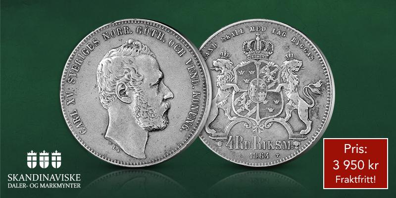Nyhet! Sjelden daler-mynt gjøres nå tilgjengelig: