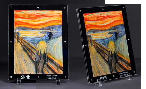 Munchs mesterverk 'Skrik' slik du aldri har sett det før: