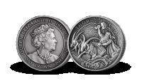 Vikingmynt Tor belagt med sølv