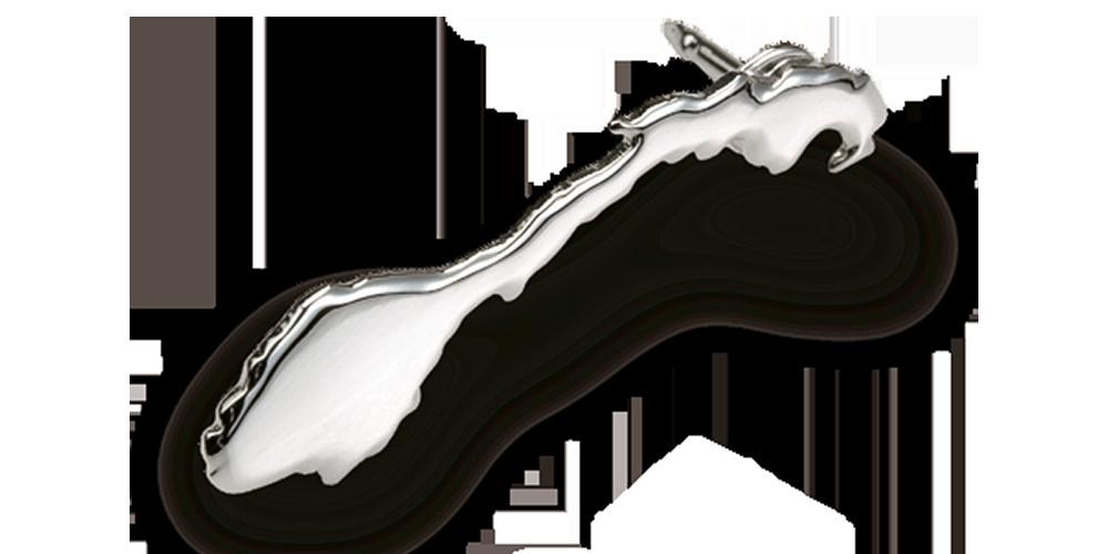 Pin formet som Norgeskartet