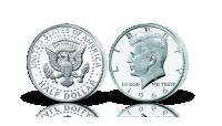John F. Kennedy halvdollar i 40% sølv