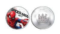 Spiderman Marvel minnemynt med innebygget lys