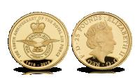 Royal Air Force gullmynt 2018