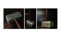 Nærbilder av Tors hammer