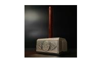 Tors hammer i rent sølv