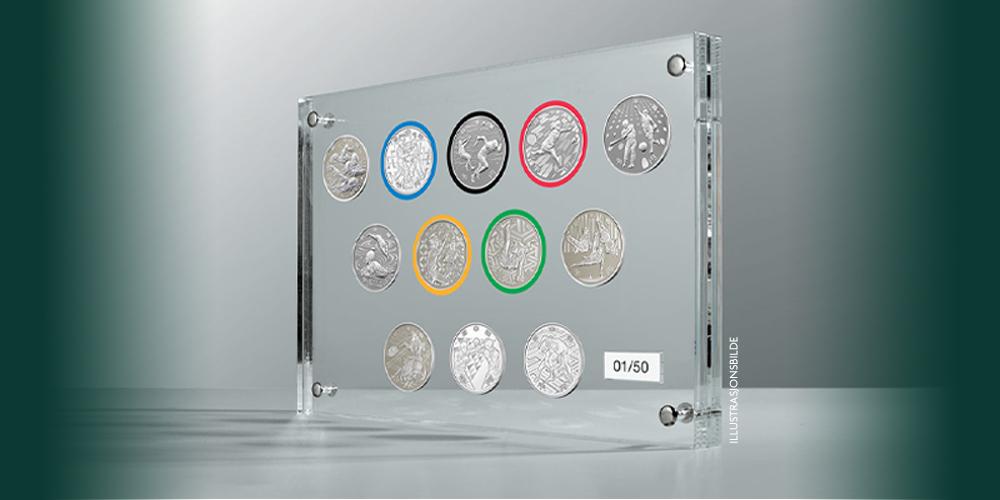 Offisielle mynter til OL i Tokyo 2020