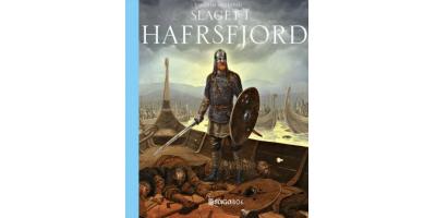 Boken Slaget i Hafrsfjord av Torgrim Titlestad