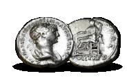 Keiser Trajan denarius